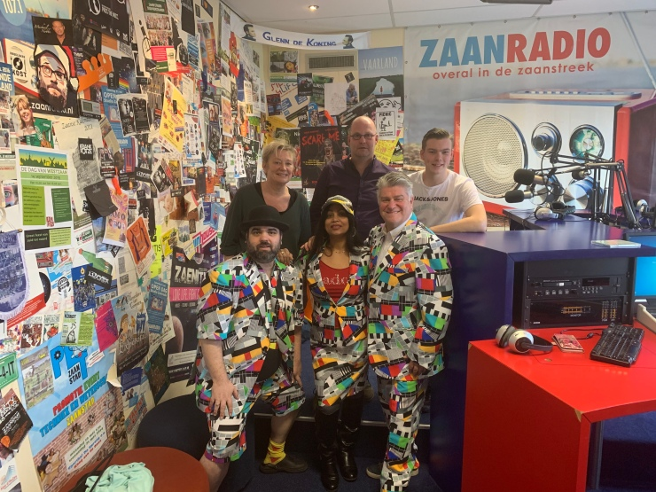 foto interview Zaanradio 6-3-2020